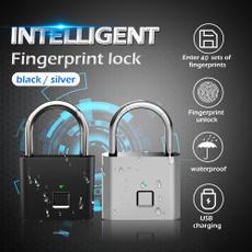 Steel, smartlock, bluetoothpadlock, usb