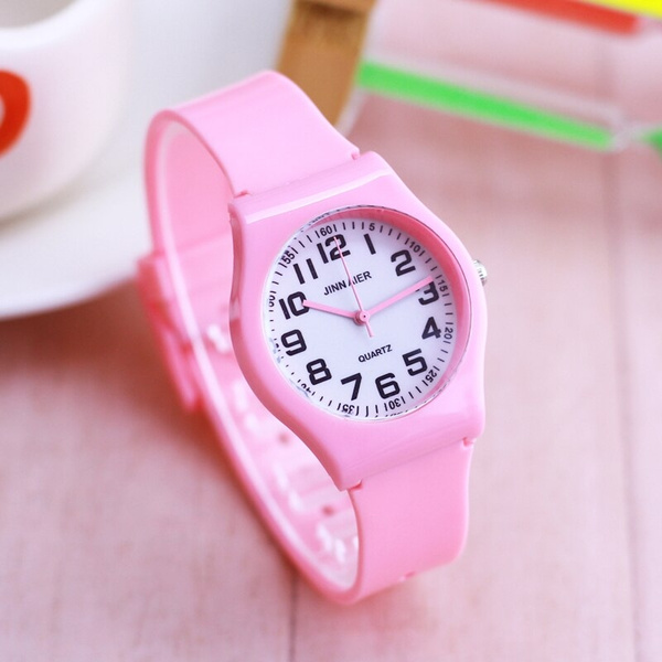 kidswatch, quartz, silicone watch, Colorful