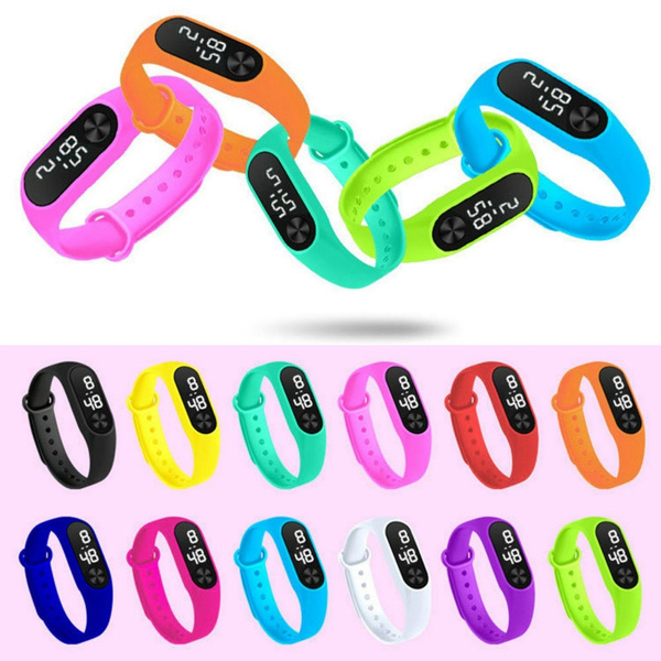 Touch Screen, students watch, Silicone, Watch