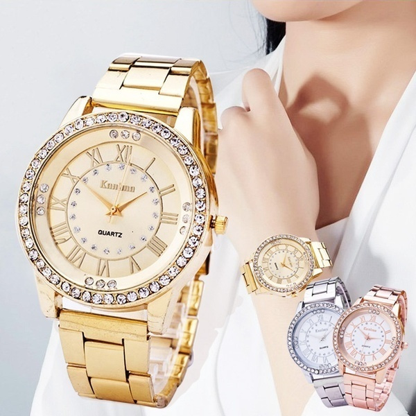 quartz, rosegoldwatch, gold, womenwatcheswaterproof
