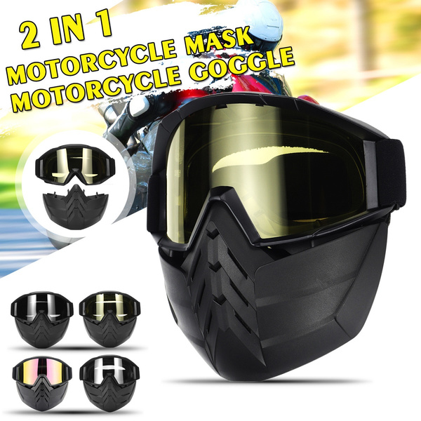 facemaskmotorcyclehelmet, Cycling, motorcyclemask, Sports & Outdoors