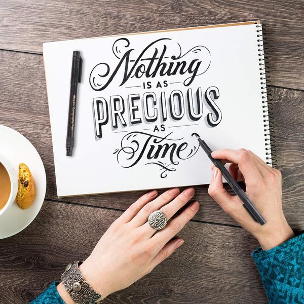 lettering, art, Bullet, beginner