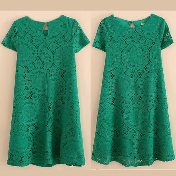Summer, Fashion, Lace, Dresses