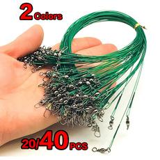 Steel, leashe, wireleader, fishingwire