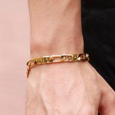 goldplated, Fashion, Jewelry, Chain
