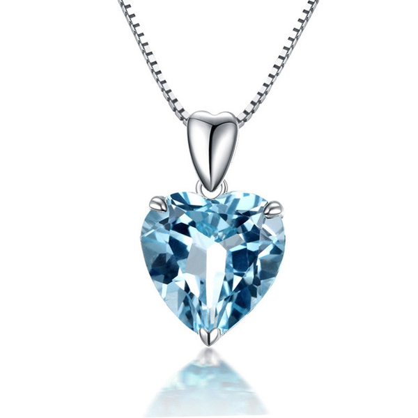 925 sterling silver necklace, Sterling, Heart, sterling silver