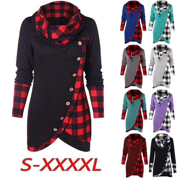 blouse, Collar, Plus Size, Sleeve