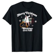 Funny T Shirt, merrychristmasshitterwasfull, Christmas, sayingstshirt