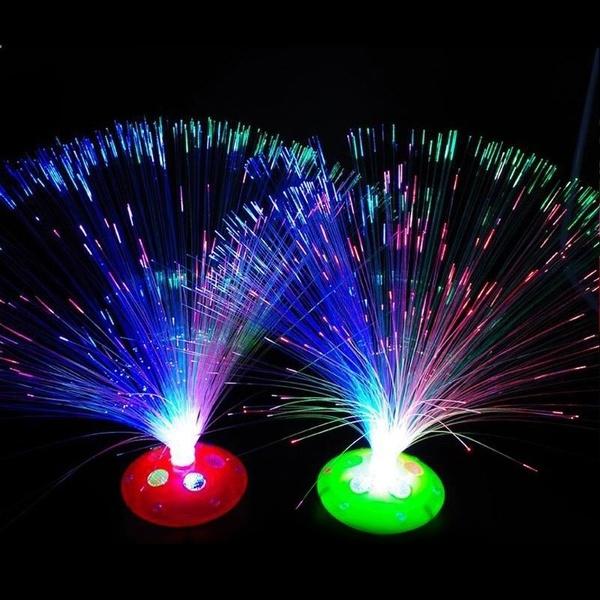 Fiber, led, lights, Interior Design