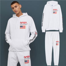 Cotton, Fleece, hooded, sport pants