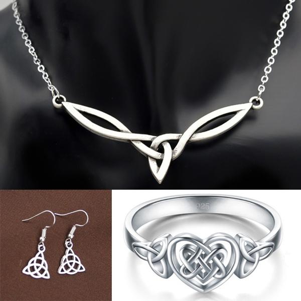 Sterling, Celtic, Jewelry, Women jewelry