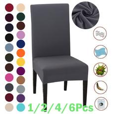 chaircover, kitchenampamphome, Home Decor, Elastic
