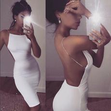 Mini, Cocktail, Summer, Evening Dress