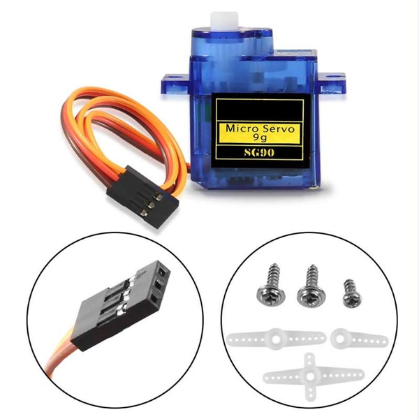 SG90 9G New Mini Micro Servo Motor RC Robot Helicopter Airplane Car Boat SS0650