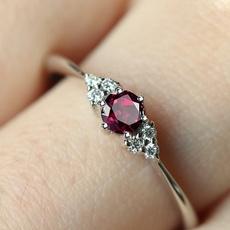 DIAMOND, wedding ring, 925 silver rings, Silver Ring