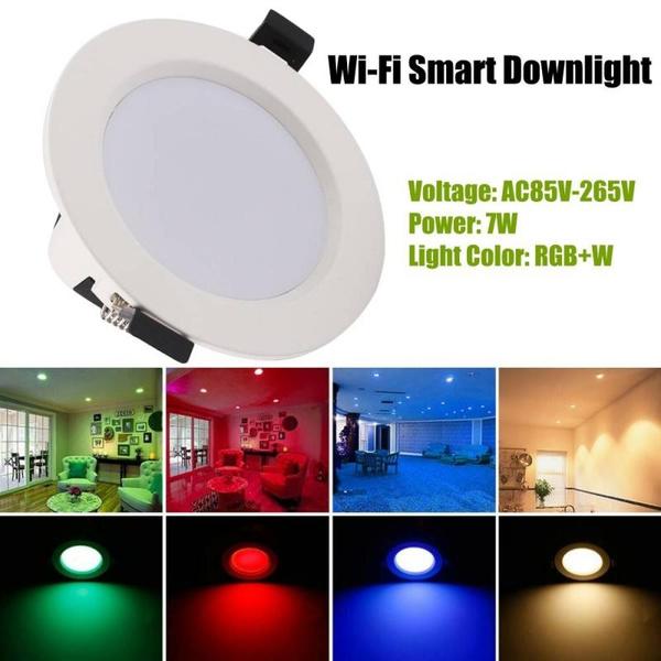 wifismartrecessedlamp, led, smartdownlight, lights