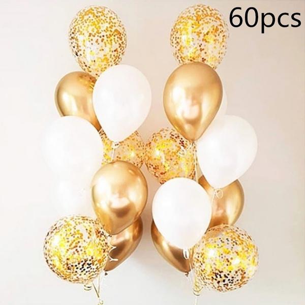 golden, weddingdecorationballoon, sequinballoon, gold