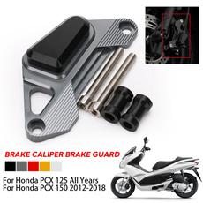 brakecaliperguard, hondapcx125150, Aluminum, Honda