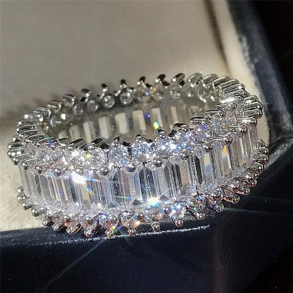 Sterling, Wedding, Sterling Silver Jewelry, DIAMOND