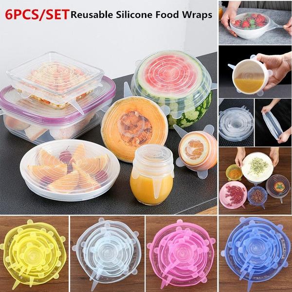 siliconefoodwrap, seallid, Kitchen & Dining, Kitchen & Home