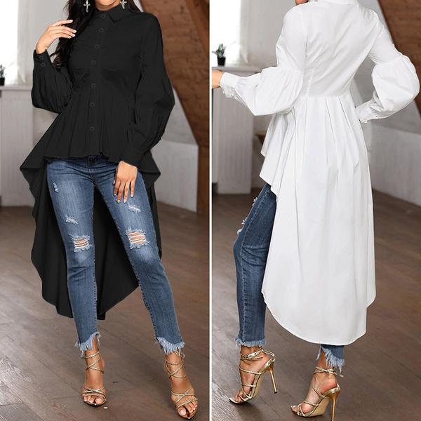 blouse, Fashion, longtop, Shirt