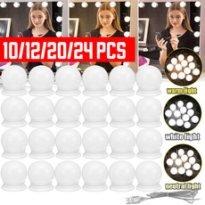 Makeup Mirrors, ledmakeupmirror, led, mirrorwithlightbulb