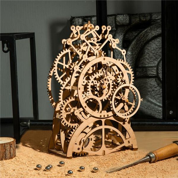 modelskit, Home Decor, christmasgiftformen, woodenpuzzlesforadult