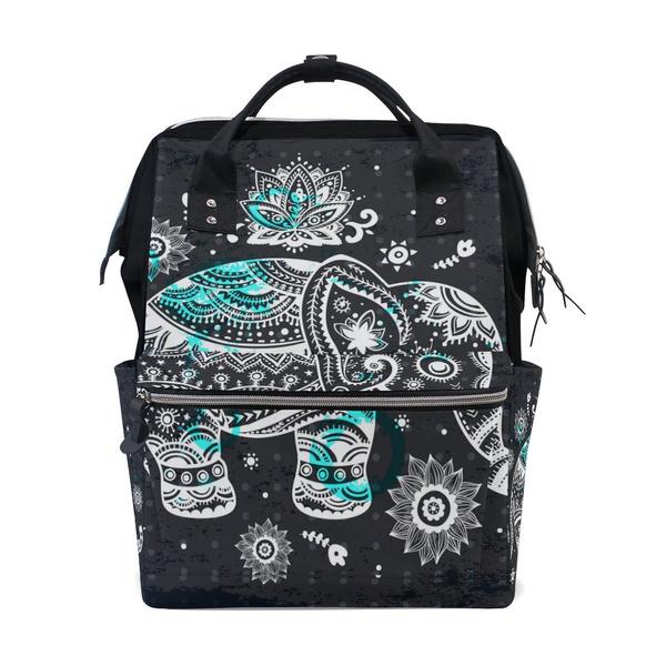 Baby, backpack bag, elephantpattern, Totes