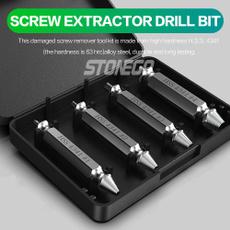drilltool, damagedscrewextractor, toolskit, boltextractorset