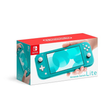 Video Games, Nintendo, Electronic, Turquoise