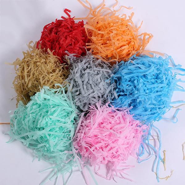 drystraw, Box, weddingpartydecor, shreddedcrinklepaper
