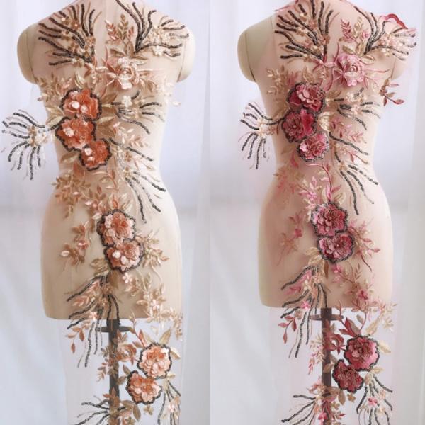 costumeapplique, Lace, Dress, Wedding