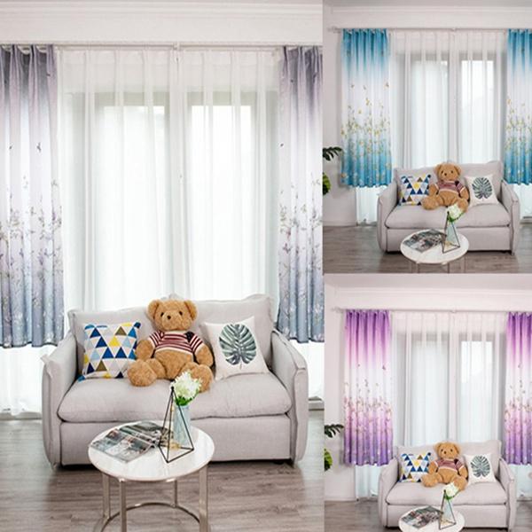 bedroomcurtain, butterflyprint, Butterflies, Home Decor