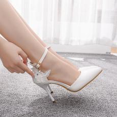 Womens Shoes, Women Sandals, Lace, Woman Shoes