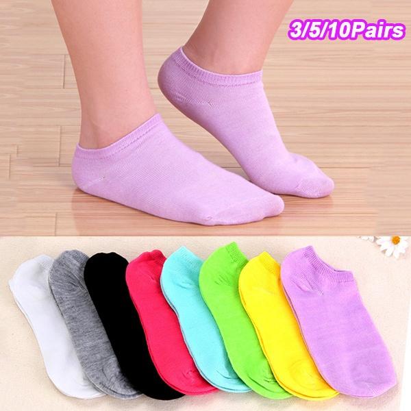 Slippers, Shorts, blacksockswomen, candy color