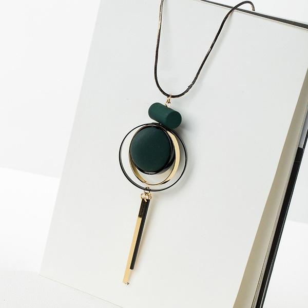bohojewelry, Chain, tasselnecklace, Tassels
