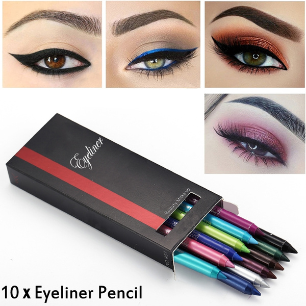 pencil, Eye Shadow, Fashion, longlastingeyeliner