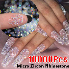 nail decoration, Mini, microrhinestone, Beauty