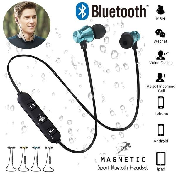 Headset, Ear Bud, Bluetooth, Bass