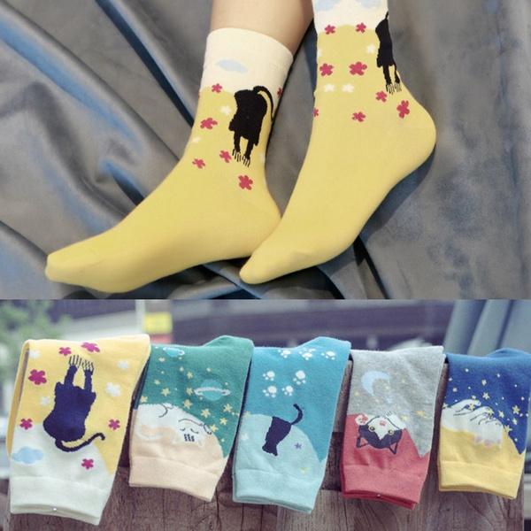 wintersock, Cotton Socks, Winter, cute