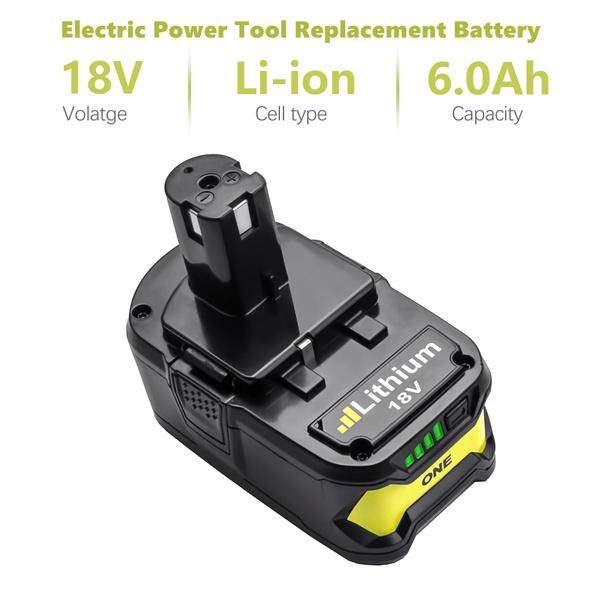 ryobi, Electric, ryobione, Battery