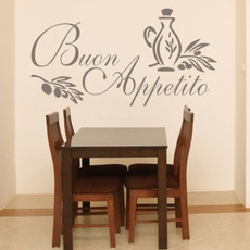 Kitchen & Dining, art, buon, Quotes