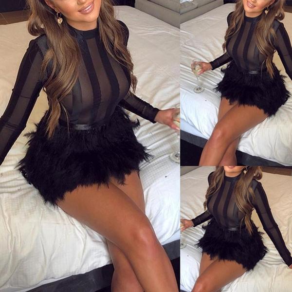 lace dresses, sleeve dress, Necks, Long Sleeve