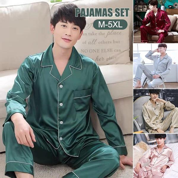 Long Sleeve, Plus Size, Sleeve, menpajamasset