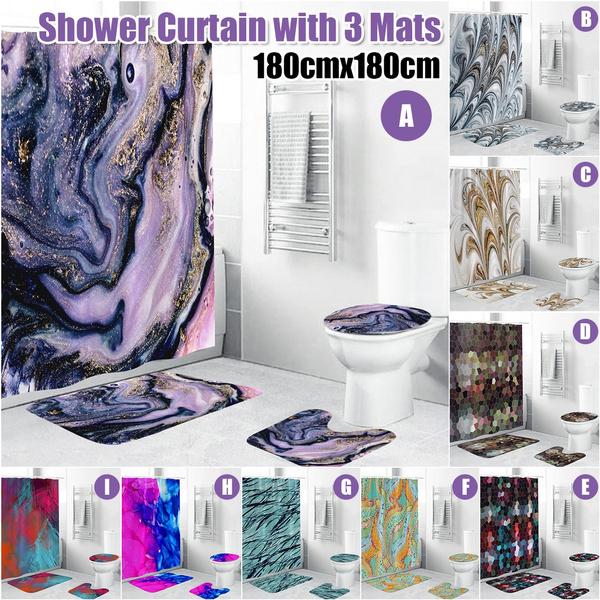 Bathroom Accessories, Waterproof, waterproofshowercurtain, Rugs