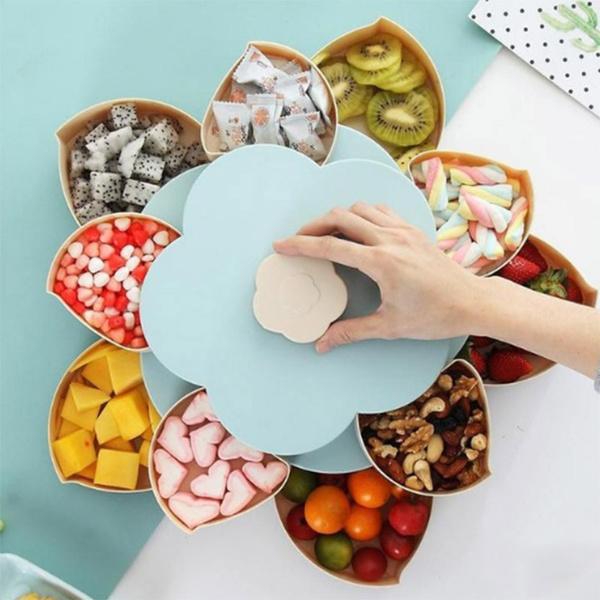 Box, rotatingdriedfruitplate, candybox, Snacks