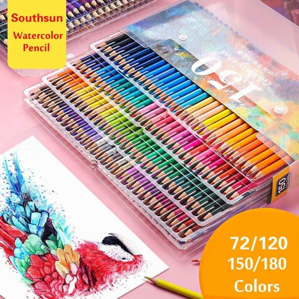 pencil, School, art, watercolorpencil