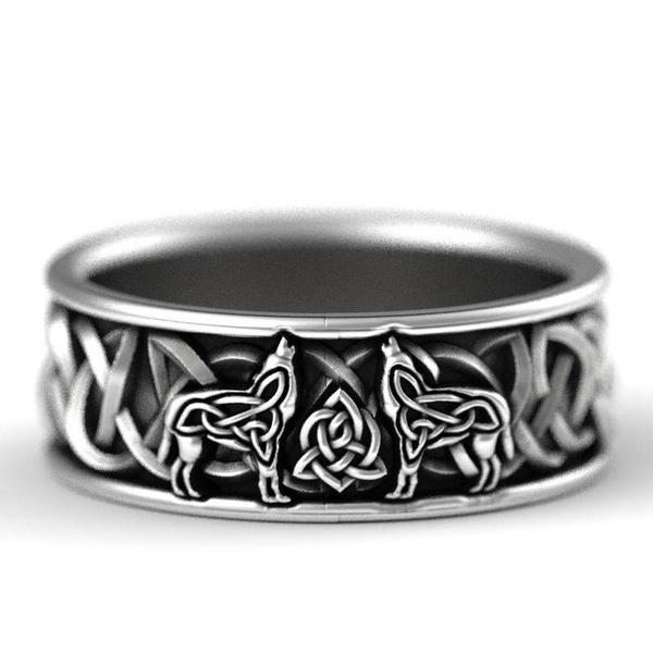 Sterling, Celtic, 925 sterling silver, wedding ring