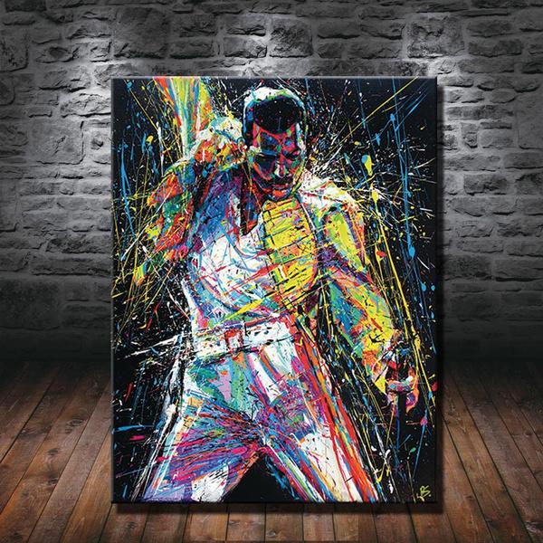 Superhero, art, Home Decor, Home & Living