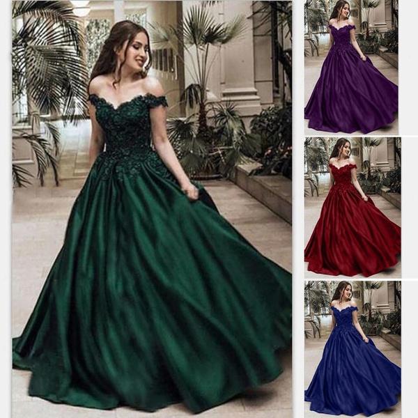 gowns, Plus Size, Lace, lace trim